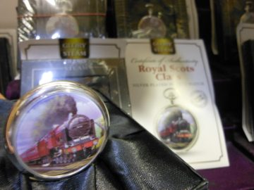 Glory of Steam' Steam Locomotive Pocket Watch Collection 01 12 2018