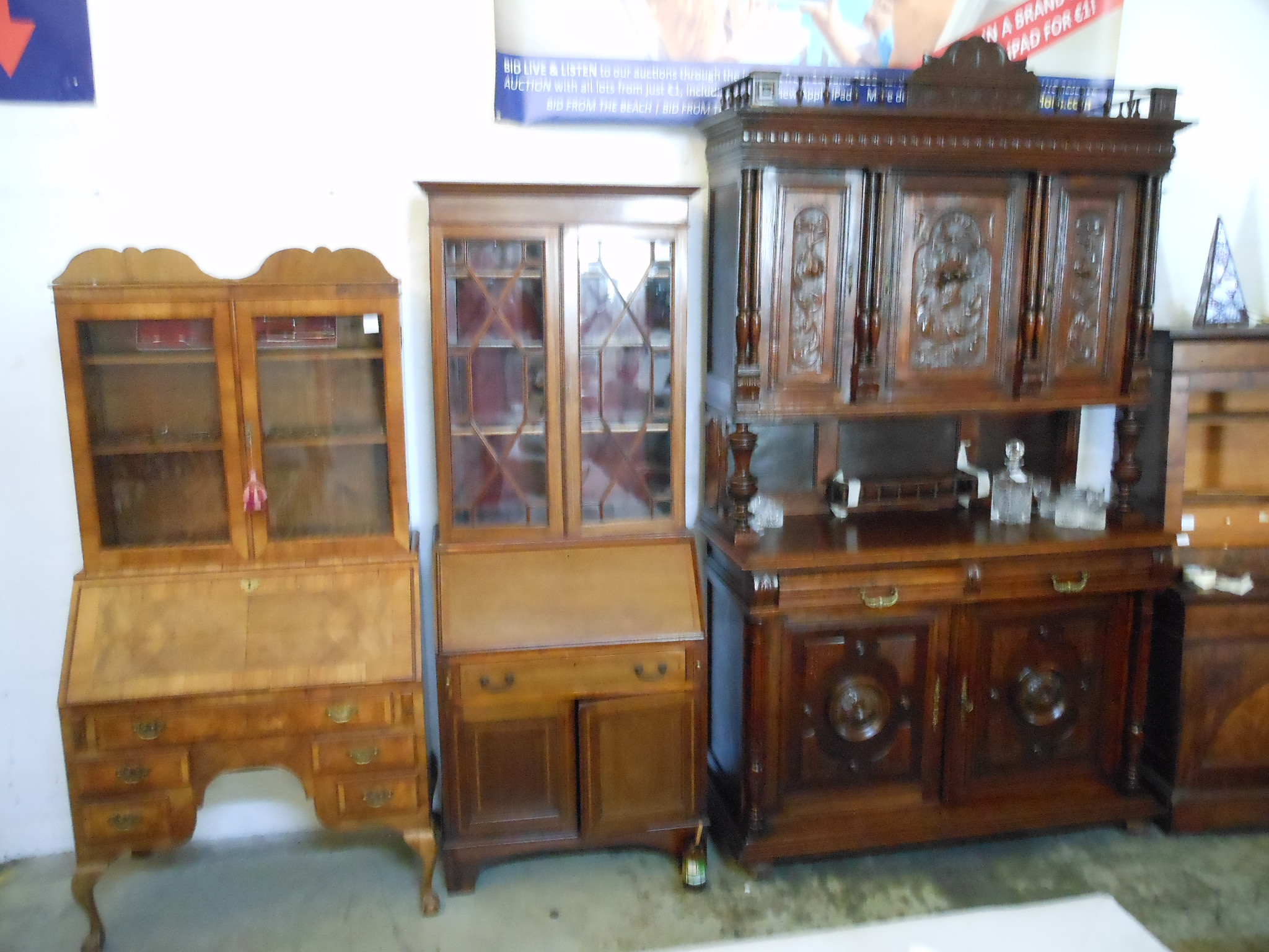 Beautiful Antique Furniture for sale at our Limassol saleroom 01.12.2018
