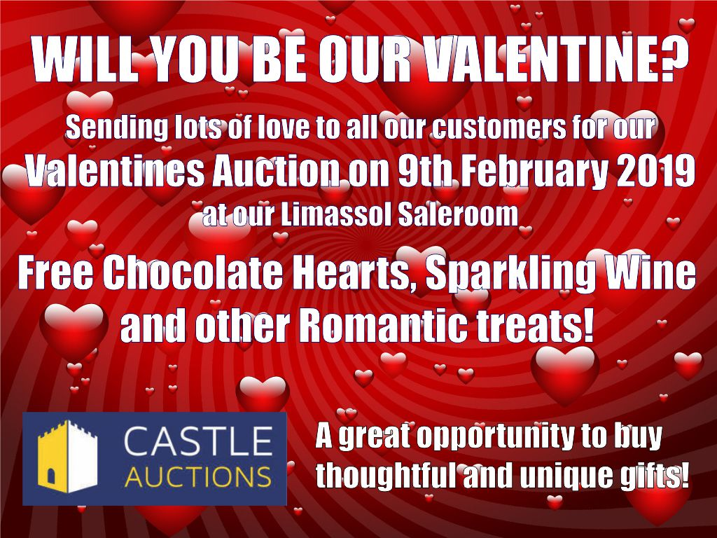 Valentines Auction 9th February 2019