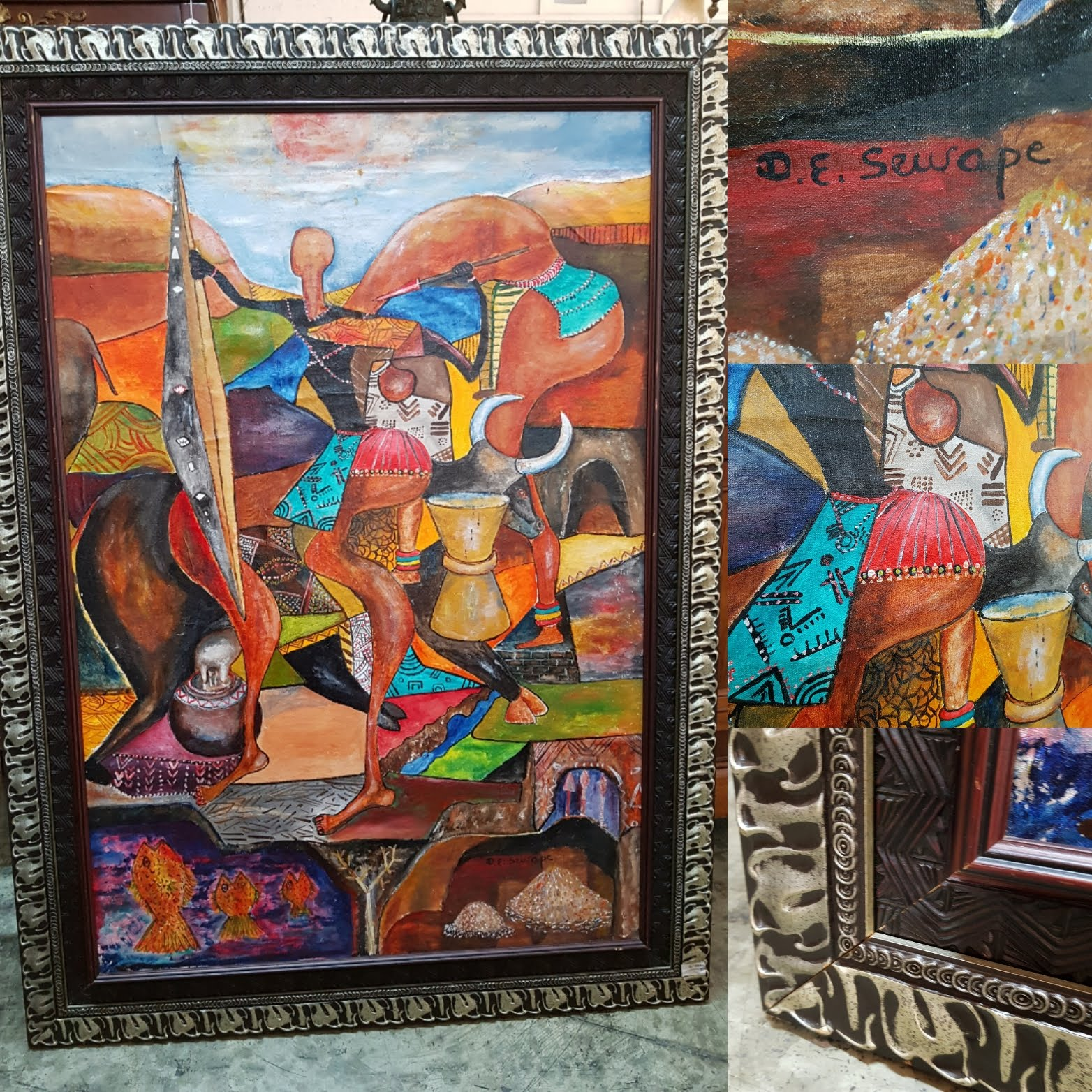 South African Original Artwork