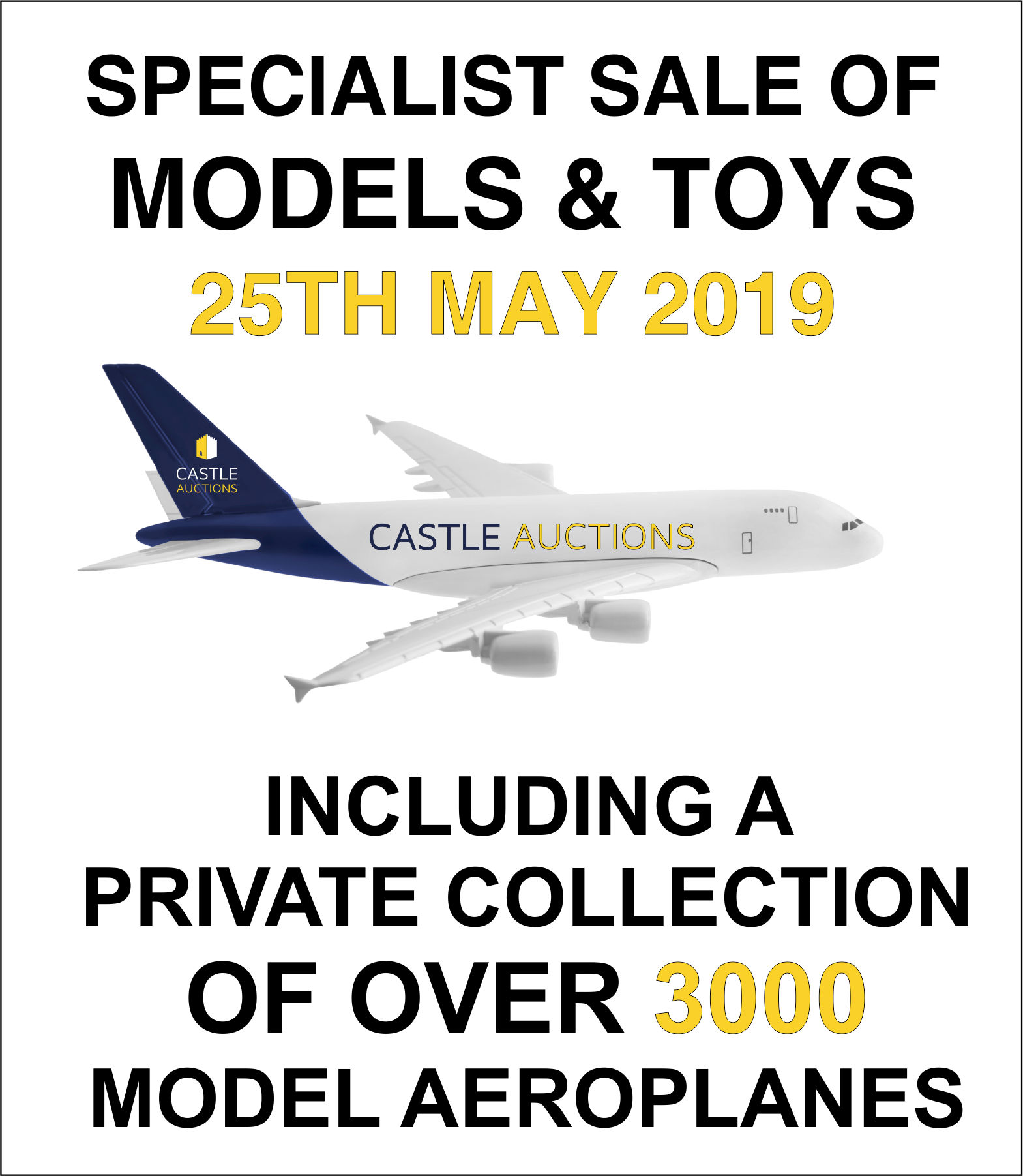 Special Model and Toy Sale 25.05.2019