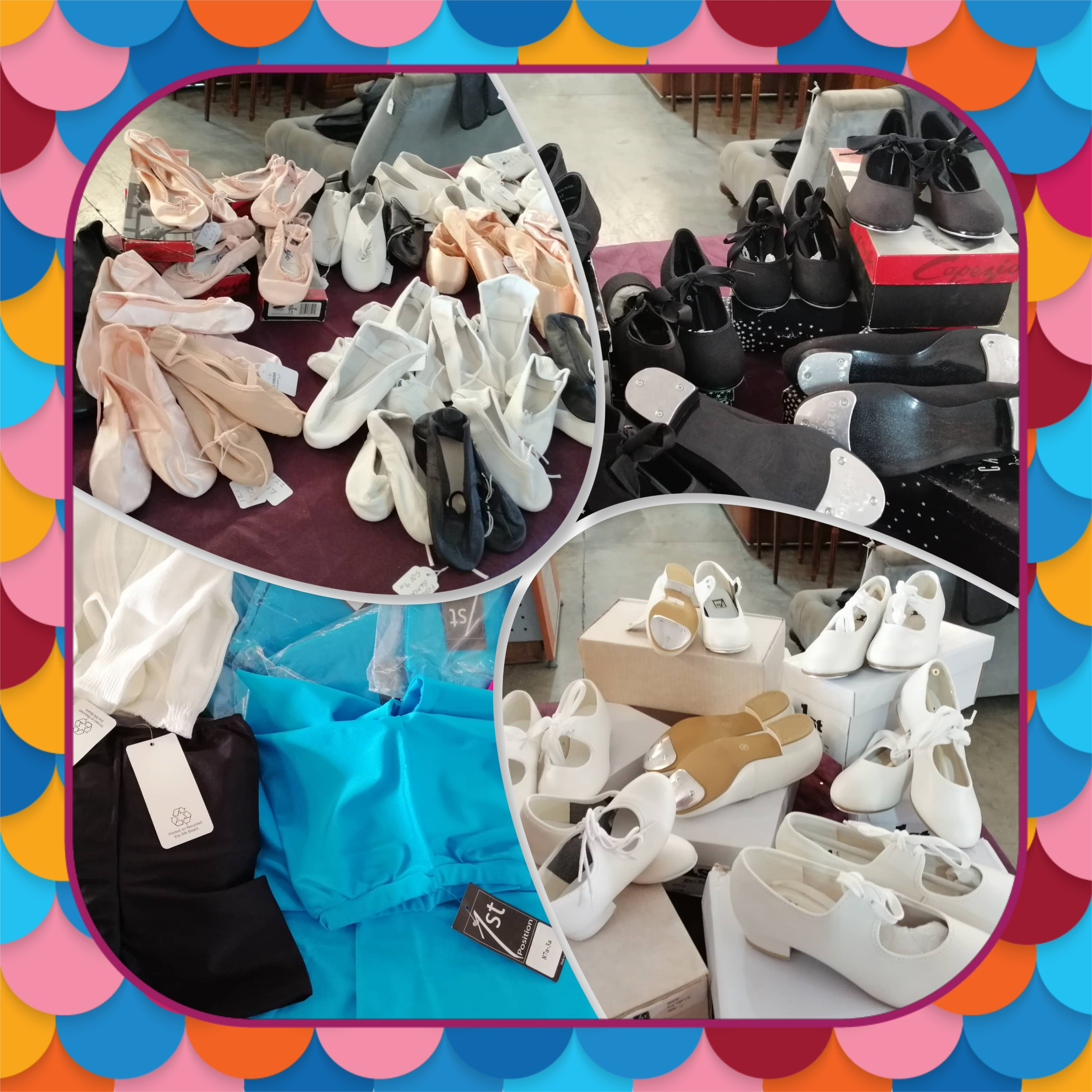 Let's Dance! Tap Shoes, Ballet Shoes, Jazz Shoes and more all at 30% RRP!