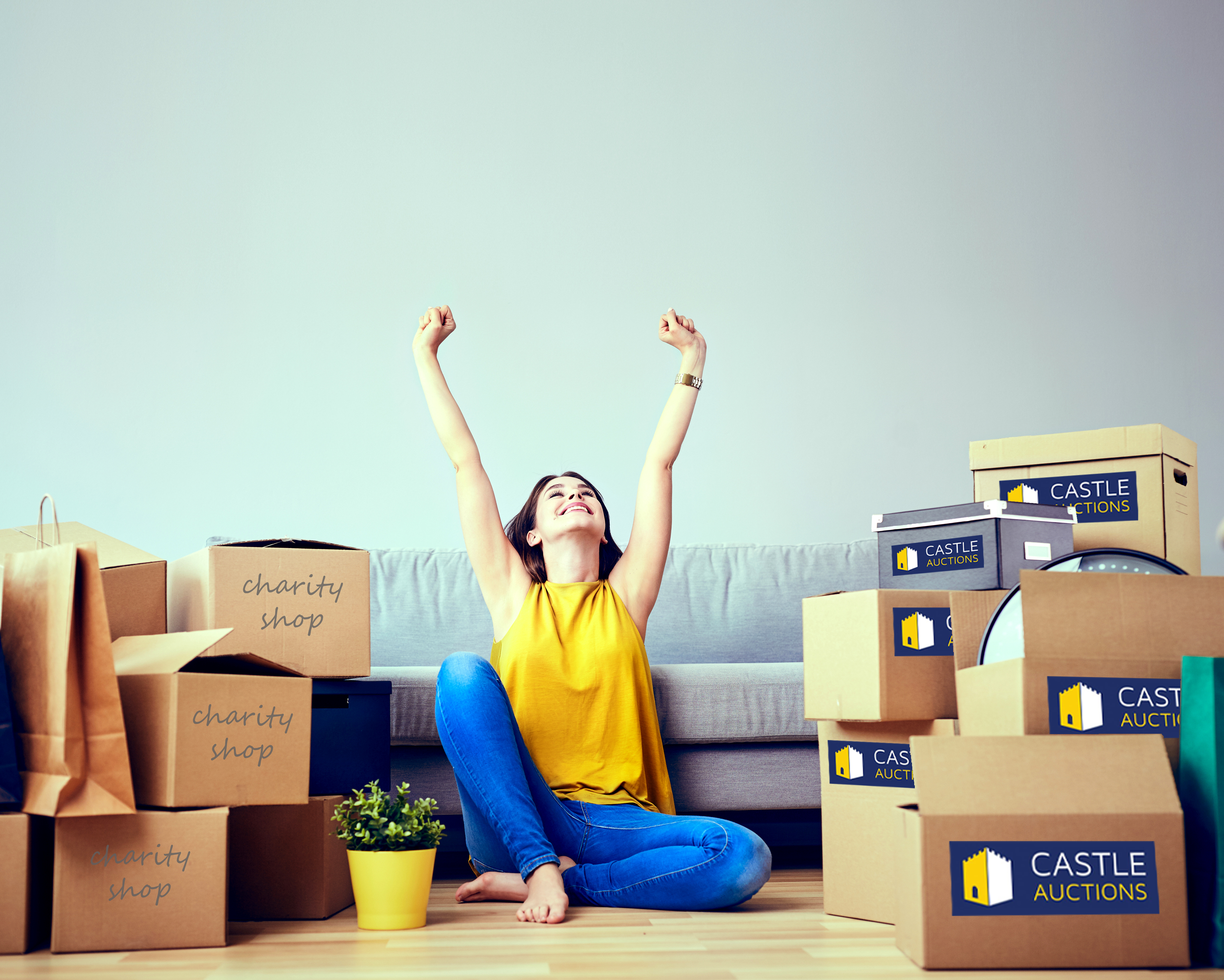 Declutter your Home with Castle Auctions